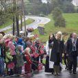 Haakon et Mette-Marit de Norvège sont en visite dans le Rogaland pour trois jours, début septembre 2009