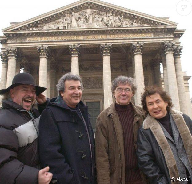 Eric, Framboisier, Bernard Minet et René Morizur