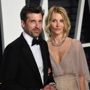 Patrick Dempsey cache ses cheveux gris et sa femme s'en charge !