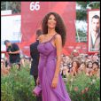 Afef Jnifen, sur le tapis rouge du Lido, à l'occasion de la cérémonie d'ouverture de la 66e Mostra de Venise, le 2 septembre 2009 !