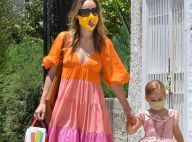 Olivia Wilde : Maman stylée et masquée avec sa fille, adorable princesse