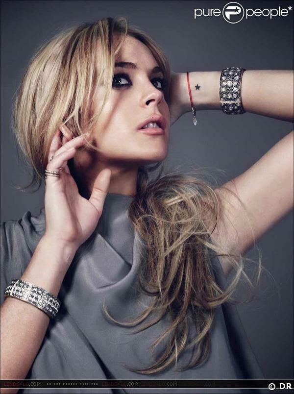 Lindsay Lohan devant l'objectif de Bryan Adams pour les malentendants