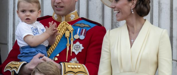 Prince William : Jolie photo de famille avec George et Charlotte, signée Kate