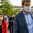 Yannick Jadot lors d'une manifestation contre le racisme et les violences policières place de la République à Paris le 9 juin 2020