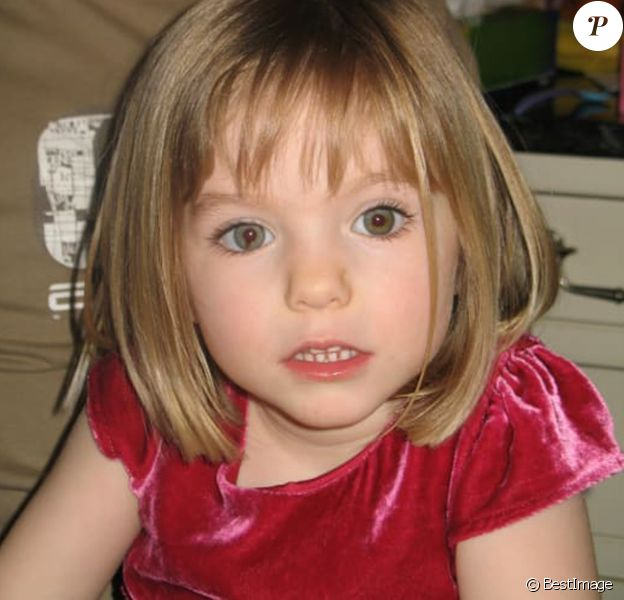 Maddie McCann, photo d'archives