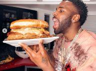 Jason Derulo tente de manger 22 burgers en 2 heures... et ça finit mal