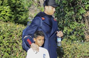 Cristiano Ronaldo : Son fils fête ses 10 ans, avec une coiffure étonnante