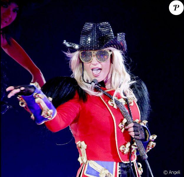 "Britney Spears, sur sa dernière tournée : ""The Circus starring : Britney Spears""."