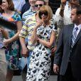 Comme vous pouvez le constater, cette robe plait beaucoup à Anna puisqu'elle l'a de nouveau portée à l'occasion de sa participation au Late Show de David Letterman, le 24 août dernier.