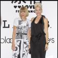 Anna Wintour et Gwen Stefani à la Fashion Week de New York, le 12 septembre 2009