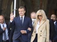 Brigitte et Emmanuel Macron : Main dans la main pour aller voter au Touquet