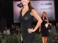 L'actrice italienne Gisella Marengo en total transparence oublie... ses sous-vêtements à la maison !
