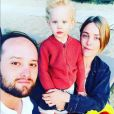 Jérémy (Les Anges 12) pose avec sa femme et leur fils Nathan sur Instagram - 2 juin 2019