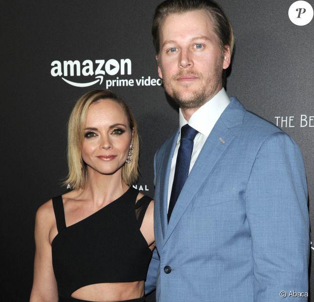 Christina Ricci et James Heerdegen à la première de la série Amazon Z: The Beginning of Everything à New York en janvier 2017.