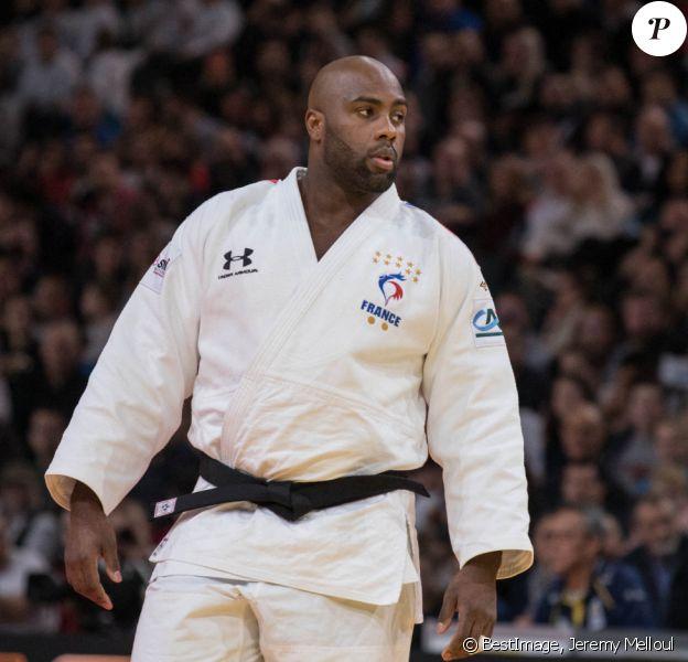 Teddy Riner (FRA) contre Stephan Hegyi (AUT) lors du Paris Grand Slam Judo 2020 à l'Accord Hotels Arena à Paris, France, le 9 février 2020. © Jeremy Melloul/Bestimage