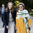 La reine Sonja, la princesse Ingrid Alexandra - Célébration de l'achèvement du parc de sculptures de la princesse Ingrid Alexandra à Oslo en Norvège le 17 septembre 2019.