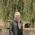 """Stéphane Thebaut lors du tournage de l'émission """"La maison France 5"""" à Strasbourg le 6 octobre 2017."""