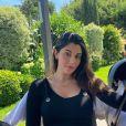Coralie Porrovecchio avec Leeroy, le 7 juin 2020, sur Instagram