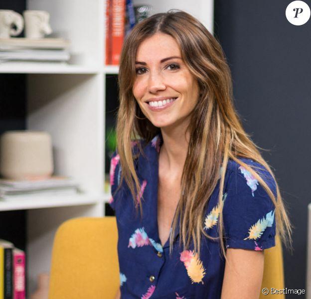 Exclusif - Rendez-vous avec Alexandra Rosenfeld (enceinte) dans les studios de Webedia pour une Interview pour Purepeople à Levallois-Perret le 16 septembre 2019.