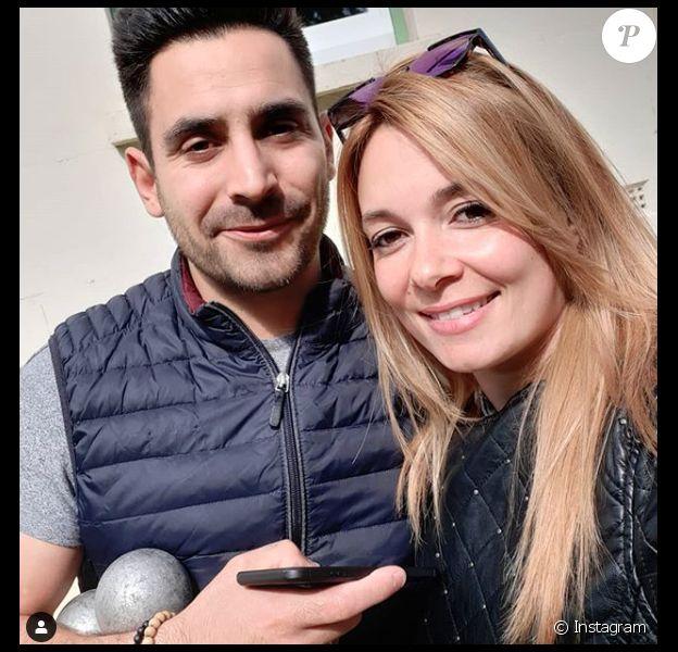 """Delphine et Romain, couple star de """"Mariés au premier regard 2020""""."""
