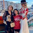 Laeticia Hallyday a passé quelques jours dans l'Hérault, la région de son enfance, en famille. Juillet 2020.