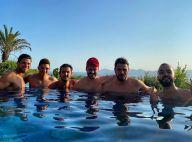 Kev Adams fêtard : vacances entre potes avec Rayane Bensetti, Oli...