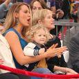 Blake Lively avec sa fille James Reynolds et sa belle-mère Tammy - Ryan Reynolds reçoit son étoile sur le Walk of Fame à Hollywood, le 15 décembre 2016