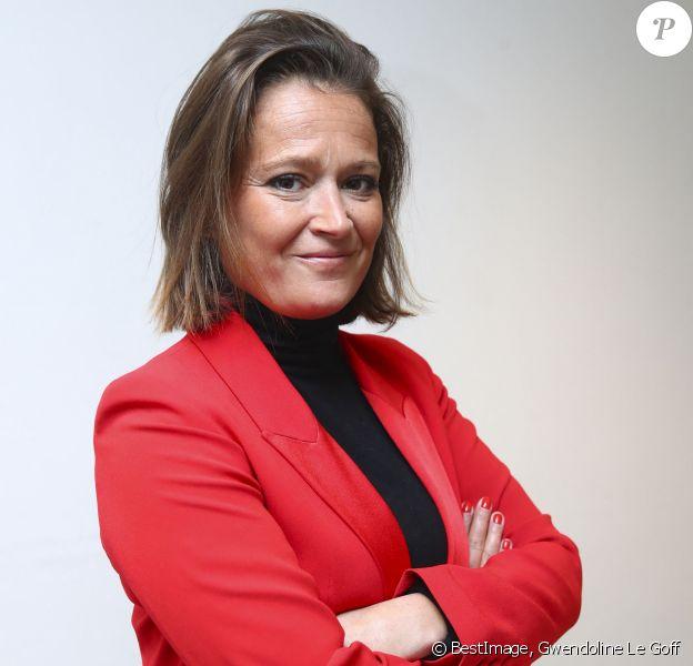 Olivia Grégoire, députée LREM de la 12ème circonscription de Paris, fait une apparition dans l'émission de LCP Politique à table à Paris le 22 janvier 2020. © Gwendoline Le Goff / Panoramic / Bestimage