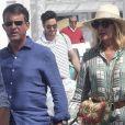 Manuel Valls et Susana Gallardo sont allés dîner au restaurant où ils se sont rencontrés il y a 1 an à Marbella.  Le 9 juin 2019.