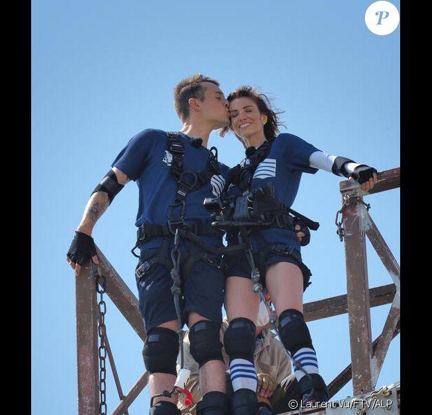 """Alexandra Rosenfeld et Hugo Clément de retour dans """"Fort Boyard"""", diffusion le 1er août 2020, sur France 2"""