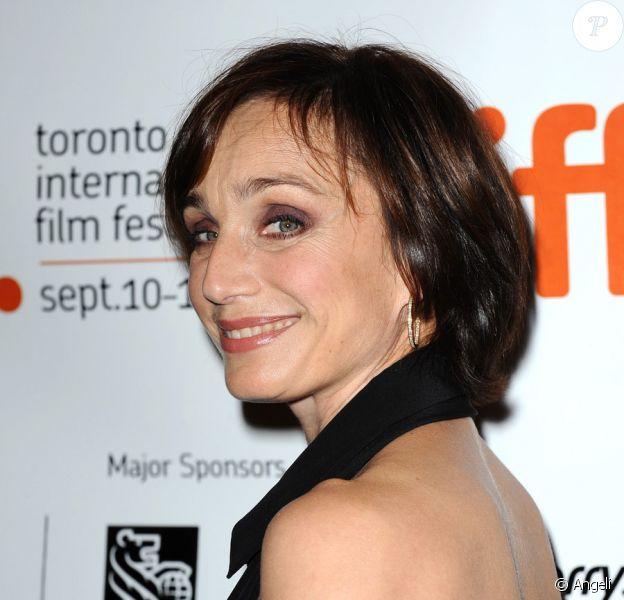 Kristin Scott Thomas lors de la présentation du film Partir au Festival de Toronto le 14 septembre 2009