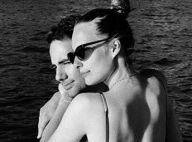 Ilona Smet et Kamran Ahmed : pose sensuelle, collés-serrés sur un bateau