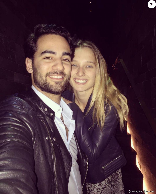 Ilona Smet et son compagnon Kamran Ahmed sur Instagram.
