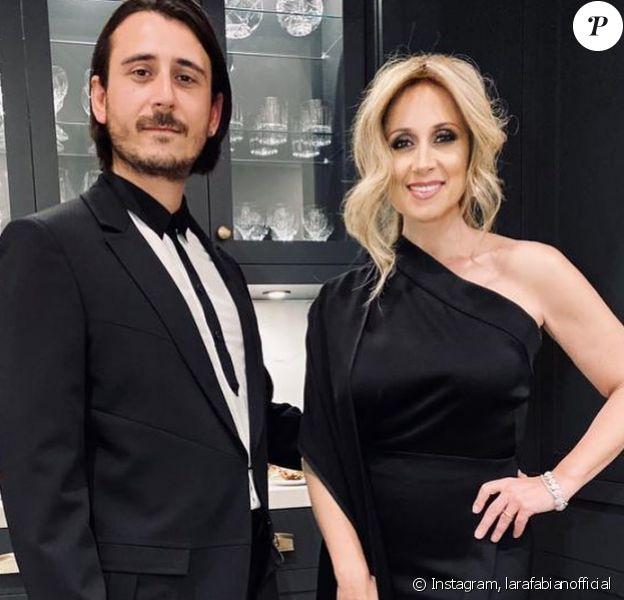 Lara Fabian et son mari Gabriel ont assisté au Gala de l'ADISQ, le 27 octobre 2019.