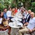 Méliné Ristiguian a partagé dans sa story Instagram des photos de sa journée de pacs avec Alessandro Belmondo, le 14 août 2020 à Paris.