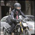 Shia LaBeouf, sur le tournage de  Wall Street 2 , à New York, le 16 septembre 2009 !