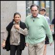 Le réalisateur Oliver Stone, sur le tournage de  Wall Street 2 , à New York, le 16 septembre 2009 !