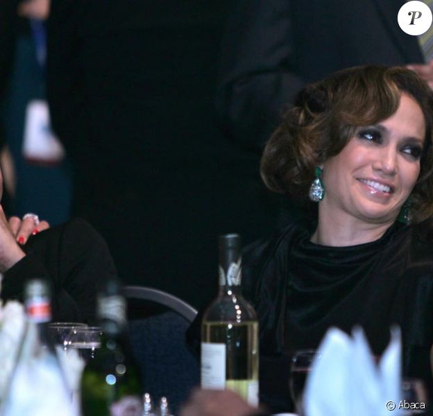 Jennifer Lopez et Marc Anthony en invités d'honneur au gala organisé par la communauté hispanique à Washington