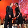 Barack Obama et Michelle lors du gala organisé par la communauté hispanique à Washington