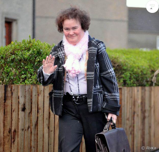 Susan Boyle était, hier soir, l'invitée de l'émission America's got talent pour la promo de son premier album.