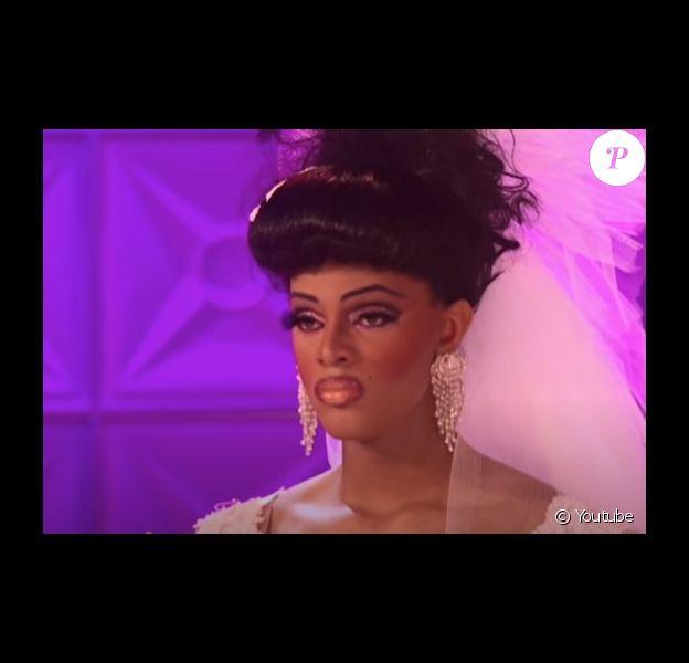 """Tyra Sanchez dans la deuxième saison de """"RuPaul's Drag Race""""."""