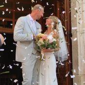 Alain Bernard : L'ancien nageur s'est marié à la belle Faustine
