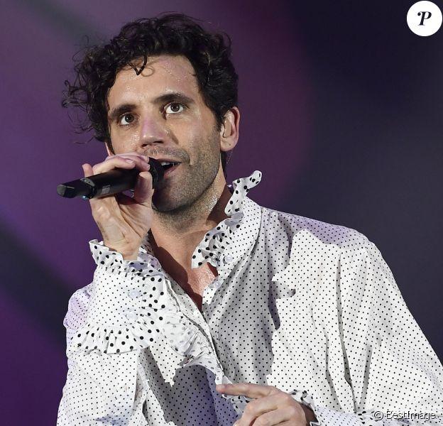 Mika en concert à Padoue en Italie