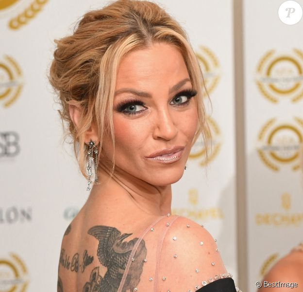 Sarah Harding - Soirée des National Film Awards UK au Porchester Hall à Londres, Royaume Uni, le 28 mars 2018.