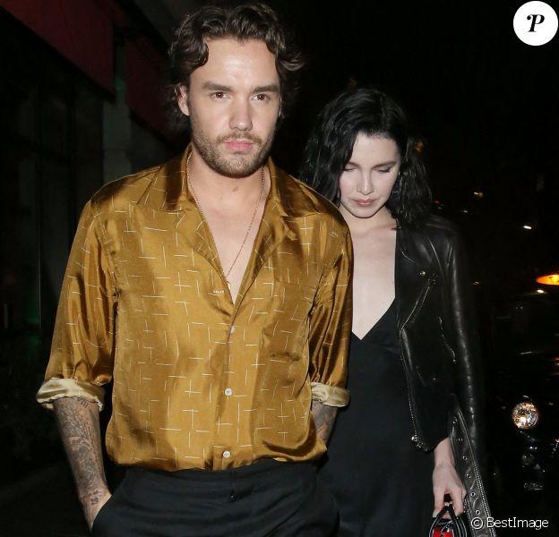 Liam Payne et sa fiancée Maya Henry sont allés diner en amoureux au restaurant Novikov à Londres