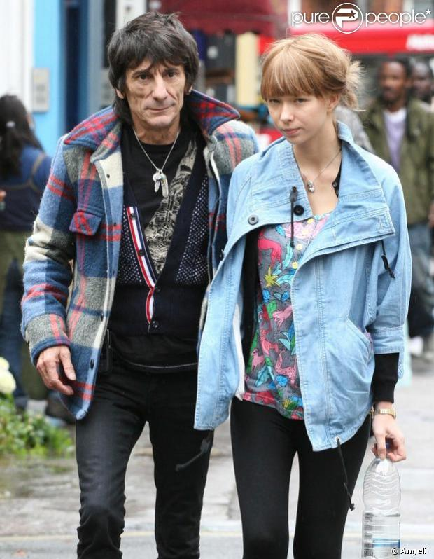 Ronnie Wood et Ekaterina