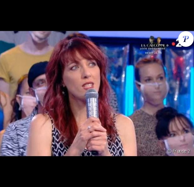 """Valérie de """"N'oubliez pas les paroles sosie de Nolwenn Leroy, émission du 31 août 2020, sur France 2"""