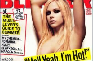 Avril Lavigne mutine, rebelle... et surtout très sexy quand elle se dénude !