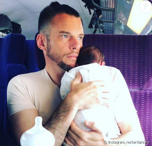 Norbert Tarayre sur Instagram avec son fils Elydjah