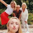 Alexandra Lamy, sa maman, sa soeur Audrey Lamy et sa fille Chloé Jouannet, sur Instagram pour la fête des Mères, le 7 juin 2020.